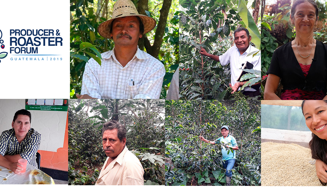 Caravela Sponsors Seven Small-holder Coffee Producers to attend the Producer and Roaster Forum in Guatemala